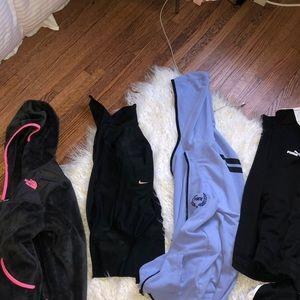 Sweatshirt bundle 🚨NIKE PINK PUMA NORTH FACE🚨